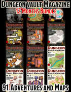 Dungeon Vault Magazine - Year Bundle 1 [BUNDLE]