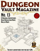 Dungeon Vault Magazine - No. 13