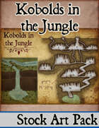 Elven Tower - Kobolds in the Jungle | Stock Battlemap