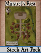 Elven Tower - Minstrel's Rest | Stock City Map