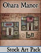 Elven Tower - Ohara Manor | Stock Battlemap