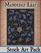 Minotaur Lair - Stock Art Map