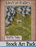 Griffin Valley - Stock Art Map