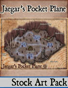 Jaegar's Pocket Plane- Stock Art Map