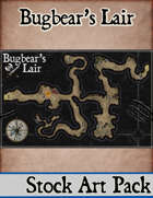 Elven Tower - Bugbear's Lair | 42x27 Stock Battlemap