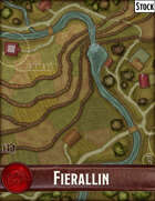 Elven Tower - Town of Fierallin   Stock City Map