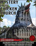 Mystery in the Chicken Church - Level 4 Adventure - 5e