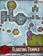 Elven Tower - Floating Temple | 29x29 Stock Battlemap