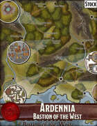 Ardennia, Bastion of the West - Stock Maps Bundle [BUNDLE]
