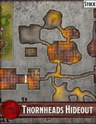 Elven Tower - Thornheads Hideout | 30x21 Stock Battlemap