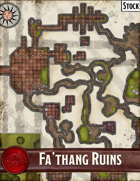 Elven Tower - Fa'thang Ruins | 43x50 Stock Battlemap