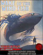 Wake of the Wind Fish - FREEBIE - Level 4 Adventure - 5e