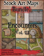 Stock Art Maps Bundle 11 - Encounters Vol. III [BUNDLE]