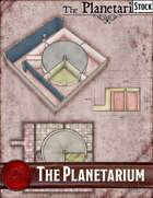 Elven Tower - The Planetarium | Stock Battlemap