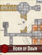 Elven Tower - Horn of Dawn | 20x20 Stock Battlemap