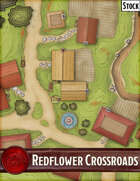 Elven Tower - Redflower Crossroads | 35x29 Stock Battlemap