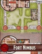 Elven Tower - Fort Nimbus | Stock Battlemap