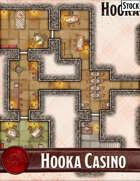 Elven Tower - Hooka Casino | 24x18 Stock Battlemap
