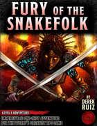 Fury of the Snakefolk - Level 8 Adventure - 5e