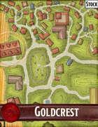 Elven Tower - Goldcrest | Stock City Map