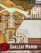 Elven Tower - Oakleaf Manor | Stock Battlemap