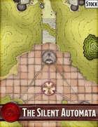 Elven Tower - The Silent Automata | 14x35 Stock Battlemap