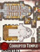 Elven Tower - Corrupted Temple of the Immortals | 29x29 Stock Battlemap
