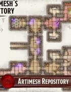 Elven Tower - Arthimesh Repository | 29x25 Stock Battlemap
