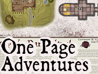 One Page Adventures