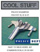 Police Squadron Paper Model