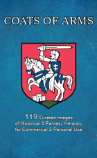 Coats of Arms (119 Curated Historical & Fantasy Heraldry)