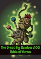 The Great Big Random d100 Table of Curses (5e)