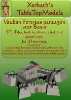 Vauban Fortress Basic Set pentagon Star