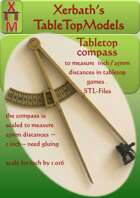 tabletop compass