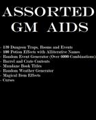 Assorted Generic GM Aids [BUNDLE]