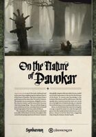 Symbaroum - On the Nature of Davokar