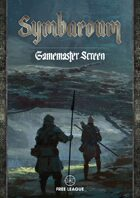 Symbaroum - Davokar Game Master's Screen