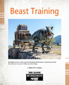 MYZ: Beast Training