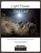 Light Flower - Dark Leaf
