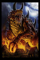 Tarrasque - Scourge of the Gods Stock Art