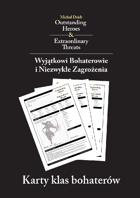 Karty klas bohaterów do polskiej edycji Wyjątkowych Bohaterów i Niezwykłych Zagrożeń