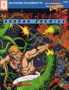 Creatures of the Night - Horror Enemies (4th edition)