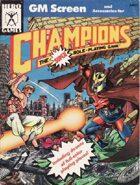 GM Screen - Champions (4th edition)