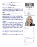 TreChriron's Deluxe Character Sheet