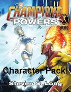 Champions Powers Character Pack