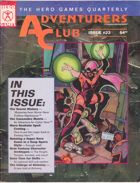 Adventurers Club Volume 23