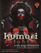 Kumari Nights: A One Page Adventure for 3.5 Edition
