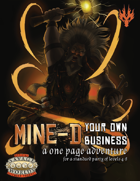 Mine-d Your Own Business for Savage Worlds
