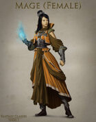 Fantasy Classes Series 1 - Mage (F)