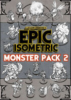 Monster Pack 2 - Epic Isometric